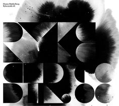 Album Art on the Behance Network #typography #album art