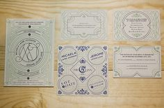 Love Wedding Invitation, Benjamin Della Rosa #invitation #wedding #invite