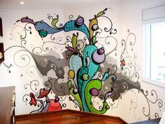 All sizes | Interior design 2008 | Flickr - Photo Sharing! #graffit #illustration #color
