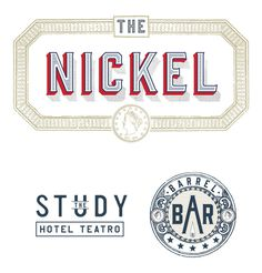nickel, logo, bar, hotel, brand, historic #nickel #brand #bar #hotel #logo #historic