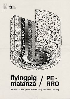 Flyingpig Matanza #poster #print