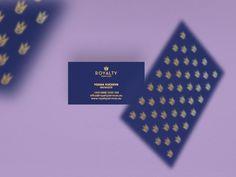 Bcards #royal #crown #cards #tsanev