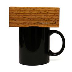 Give yourself and the environment a coffee break with the simple yet unique Canadiano Wooden Block Brewer. #product #design #industrial