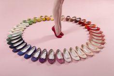 Things Organized Neatly #pink #shoes #woman