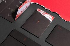 Sabotage Wine packaging invite design by Javier Garcia on Behance