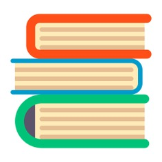 See more icon inspiration related to book, books, education, study, library, reading and literature on Flaticon.