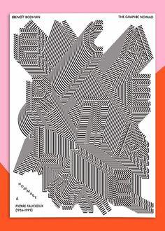 Hommage à Pierre Faucheux #print #poster