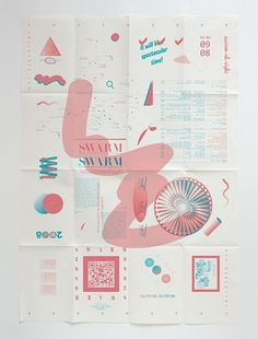 FFFFOUND! #pink #design #graphic #poster #typo