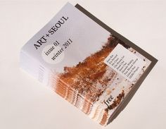 Main : Art + Seoul #print #graphic design #art #cover #winter 2011