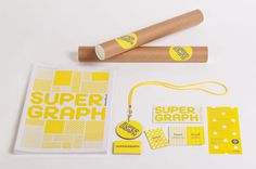 Supergraph 2014 · A Friend of Mine #business #card #print #tube #poster #lanyard