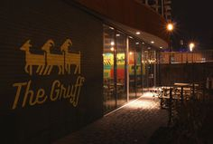 The Gruff entrance #interior #the #exterior #signage #gruff