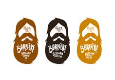 lovely-package-barbiere-2 #beer #bottle #packaging #beard #design #graphic
