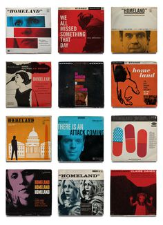 Ty Mattson Homeland Jazz Record Covers