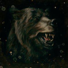 All sizes | Bear Study | Flickr - Photo Sharing! #drops #black #heiko #brown #bear #dark #mller