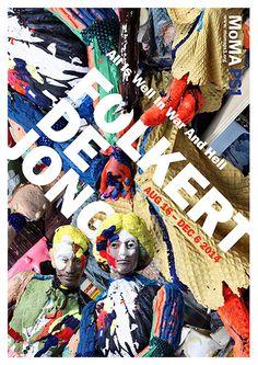 Folkert De Jong #sculpture #paint #exhibit #poster #art #moma