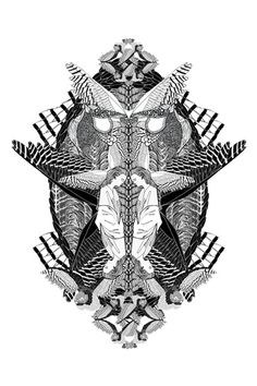 Chrissie Houtkooper / designer / illustrator #white #print #graphic #black #illustration #fashion