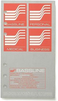 Paradiso / Bassline 2 - Experimental Jetset #cover #print #design