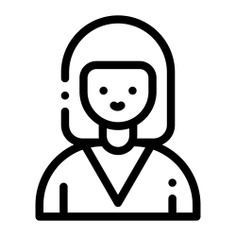 See more icon inspiration related to woman, girl, young, user, avatar, employee, women and profile on Flaticon.