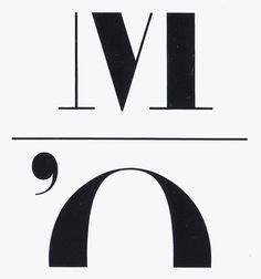 Bruno Monguzzi, Visuel Design (Jean Widmer) — Musée d #icon #logo #logotype #bodoni
