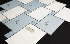 Visuel identitet til Alex Poulsen Arkitekter | re-public #logo #print #identity #stationary