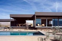 Prototype Prefab Home In The Californian Desert | Freshome #architecture