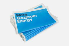 Gazprom Energy | MARK #cover #newsprint #editorial