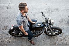 Convoy #fashion #motorcycle #menswear