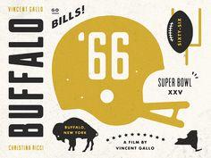Buffalo_66_detail #illustration #buffalo #football