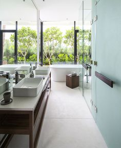 Naman Residences – Garden Villa on the Non Nuoc Beach - #bath, #interior, #decor, home, bathroom