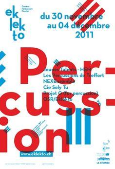 gva studio - typo/graphic posters #gva #duotone #poster #typography
