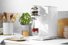Teforia knows its tea! Its a #modern tea #brewer programmed with the best #steeping methods for every kind of #tea, making a perfect cup eve