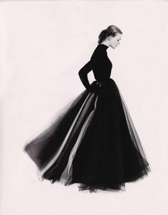 Susan Abraham by Norman Parkinson 1951 #golf #photo #classic #retro #black #parkinson #skirt #norman