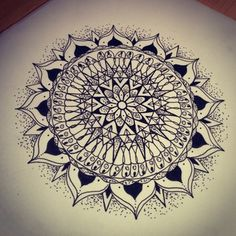 Free art workshop: Mandalas #mandala