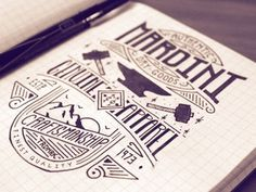 Dribbble - Mardini - Authentic Dry Goods by Jason Carne