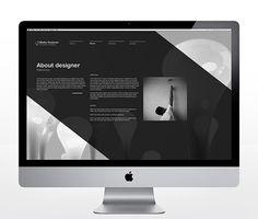 Jonas Eriksson » Every Reason to Panic #website #helvetica #design
