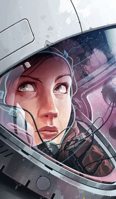 EK_Plan B Sci fi by Derek Stenning #digital #illustration #painting
