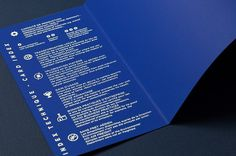 MAP 2014 #silkscreen #summary #book #blue #editorial