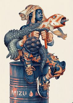 Tumblr, Mizu, James Jean #mizu #illustration #james #jean