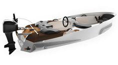 Marinekart Kart 338 Boat #tech #amazing #modern #innovation #design #futuristic #gadget #ideas #craft #illustration #industrial #concept #art #cool