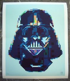 RAFA JENN - Art & Design, Page 2 #print #denver #rafa #colorado #screen #vader #art #darth #jenn