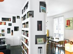 Viewing Dwell shelving inspiration in the Home category :: Ember #shelve #book