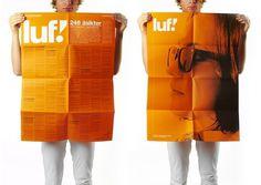 SNASK – Designing Brands & Lifestyles #luf #snask #orange #poster