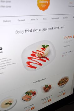 Delivery #delivery #food #web #hezy #dishes