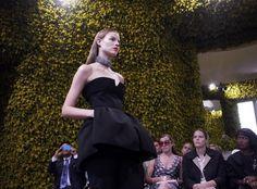 Color Art Show Fall-Winter 2012 for Christian Dior #flowers #s #art #show #fashion #raf #christian #dior