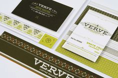 Verve, black, packaging, package, modern, bag