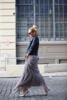 Brooklyn Blonde: Taken by Storm #skirt #blonde