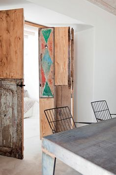 The Design Chaser: Interior Styling | Rustic Doors #interior design #decoration #rustic #decor #door #deco