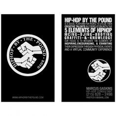 MarquisMosley #business #branding #card #hop #logo #hip