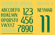 brazil_home #numbers #brazil #typeface #custom