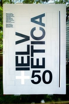 Blanka || Supersize #50 #build #of #years #poster #helvetica